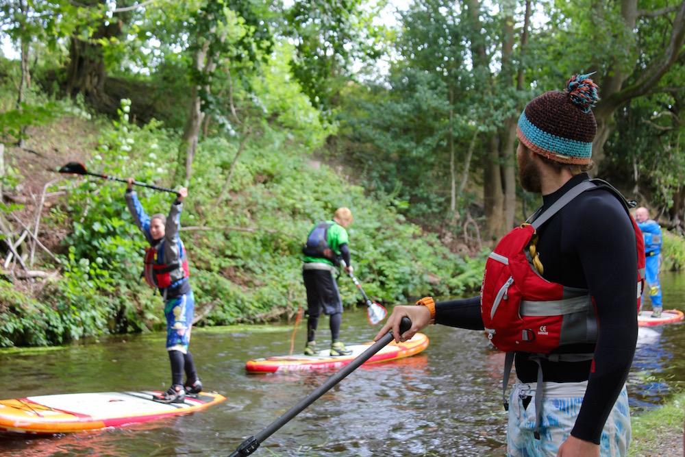 British Canoeing SUP Module Anthony Ing