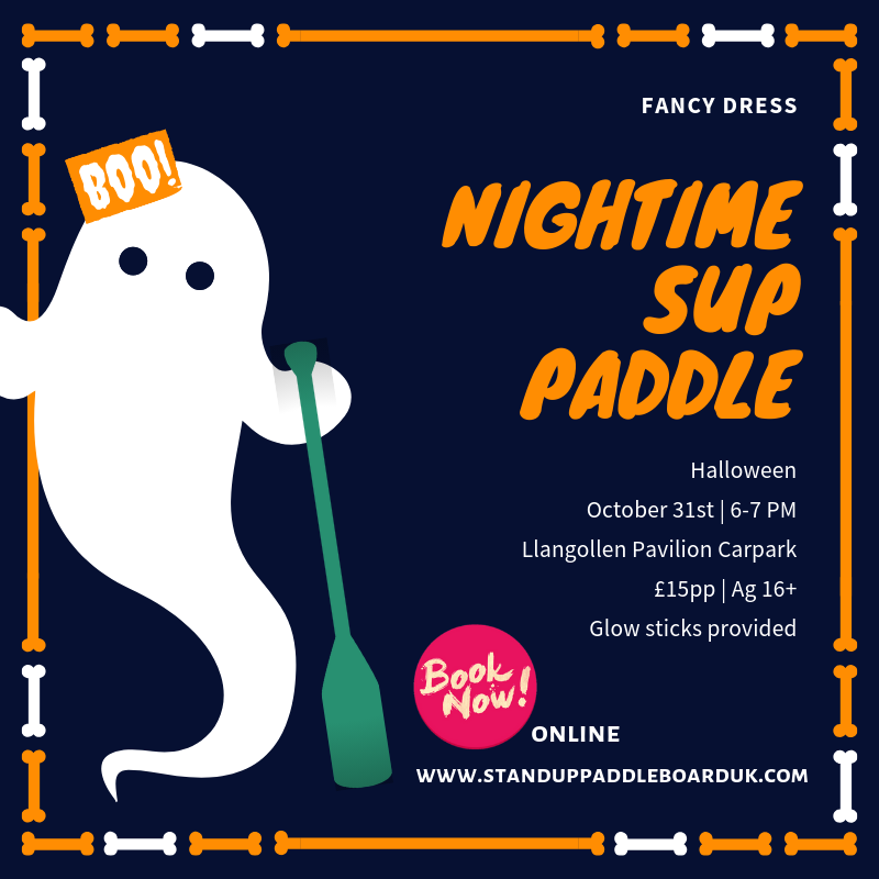 Halloween SUP Paddle