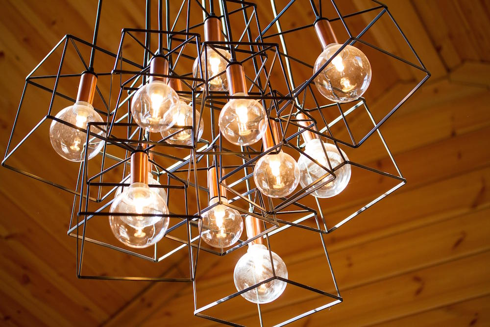Log Cabins Handcrafted Lights